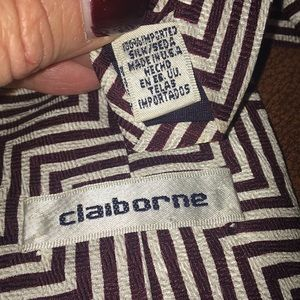 Claiborne Accessories - CLAIBORNE ALL SILK MENS TIE